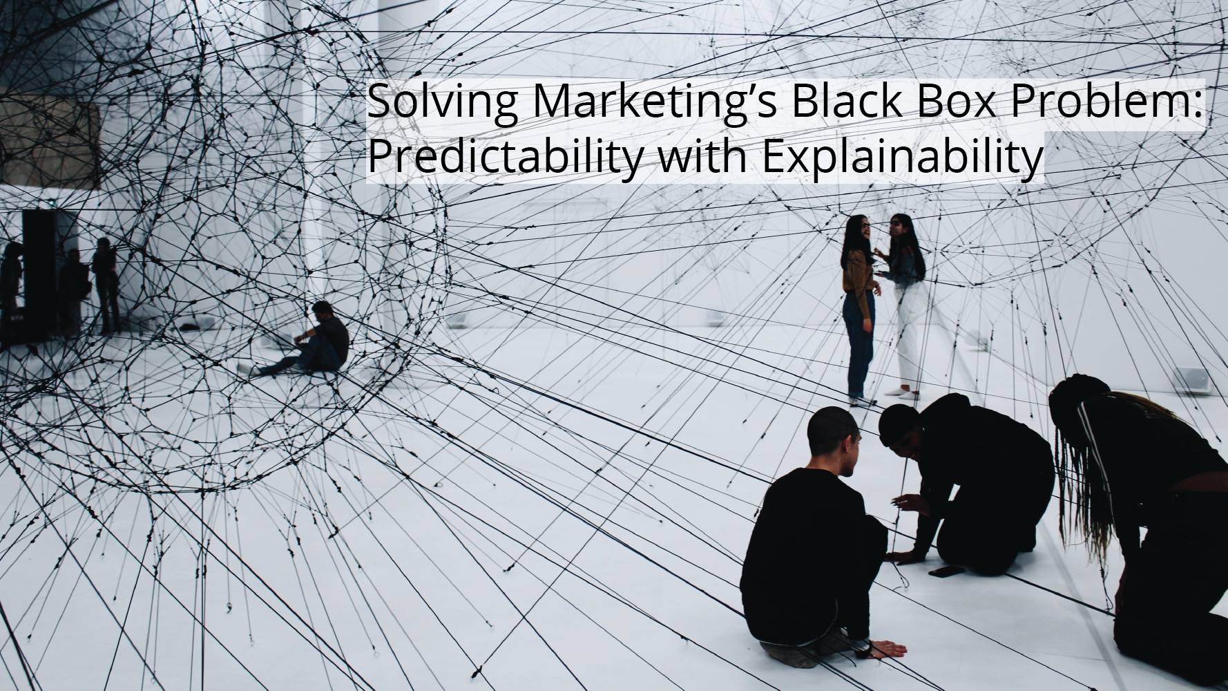 Solving marketing's black box problem: predictability with explainability